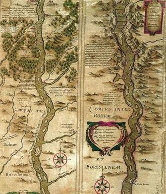Upių žemėlapiai